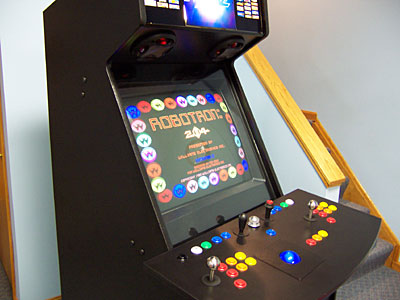 SlikStik Arcade Cabinet in play