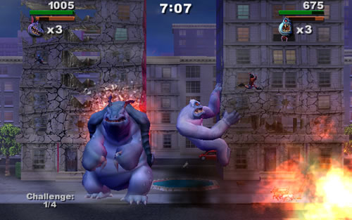 Retroblast Review Rampage Total Destruction By Midway For The Playstation 2
